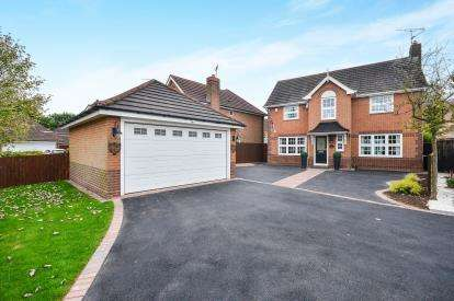 4 Bedrooms Detached House for sale in Woodlands Way, Sutton-In-Ashfield, Nottinghamshire