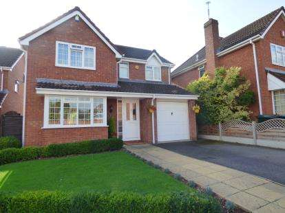 4 Bedrooms Detached House for sale in Brunton Close, Coventry, West Midlands