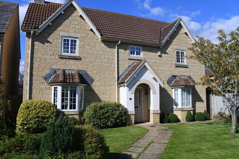 5 Bedrooms Detached House for sale in Linden Lea, Down Ampney