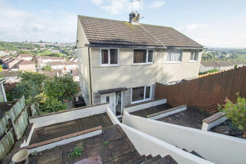 3 Bedrooms Semi Detached House for sale in Higher Compton , Plymouth