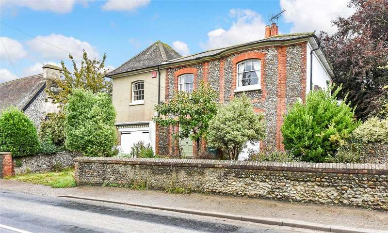 4 Bedrooms Detached House for sale in Selsey Road, Donnington, Chichester, West Sussex, PO20