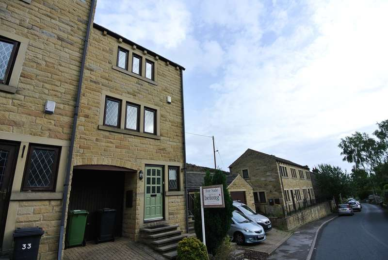 3 Bedrooms Mews House for sale in Dean Brook Road, Netherthong, Holmfirth, HD9