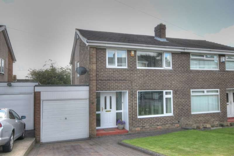 3 Bedrooms Semi Detached House for sale in Broadway, West Denton Hall, Newcastle Upon Tyne, NE15