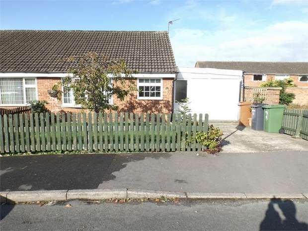 2 Bedrooms Semi Detached Bungalow for sale in Swift Close, Melton Mowbray, Leicestershire