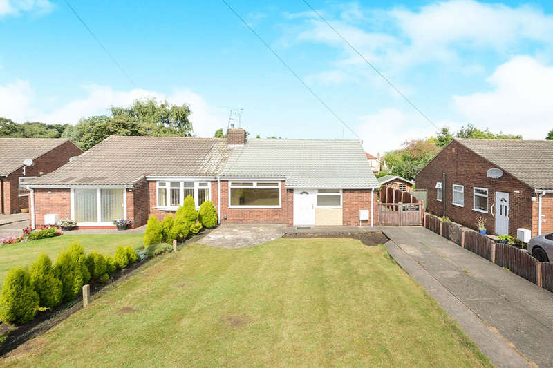 2 Bedrooms Semi Detached Bungalow for sale in Shelley Grove, York, YO30