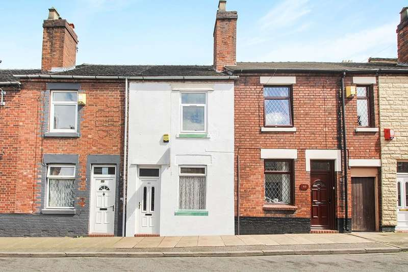 2 Bedrooms Terraced House for sale in Rothesay Road, Stoke-On-Trent, ST3