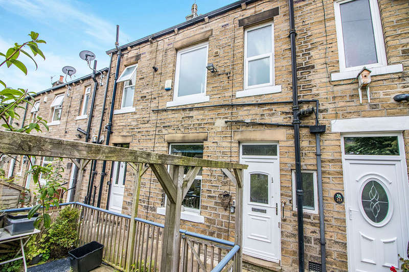 2 Bedrooms Terraced House for sale in Dale View, Hebden Bridge, HX7