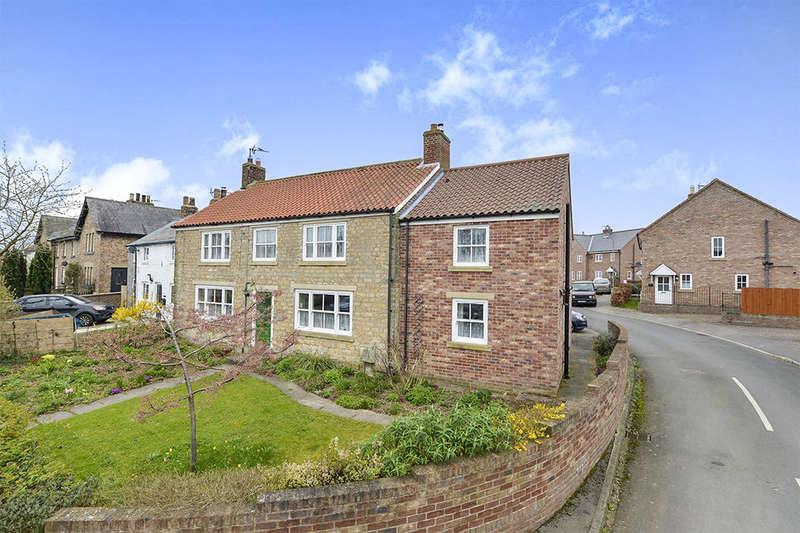 5 Bedrooms Semi Detached House for sale in Main Street, Kirby Misperton, Malton, YO17