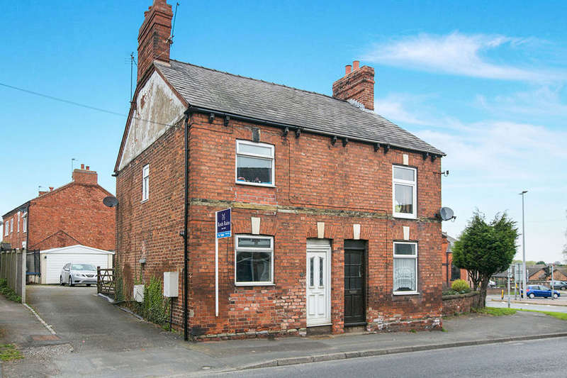 2 Bedrooms Semi Detached House for sale in Nantwich Road, MIDDLEWICH, CW10