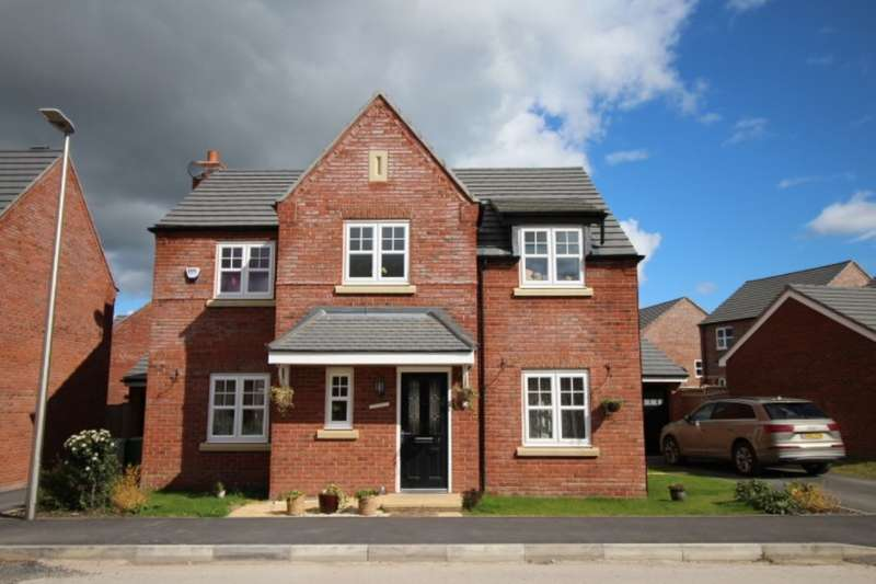 4 Bedrooms Detached House for sale in Stephenson Street, Northwich, CW8