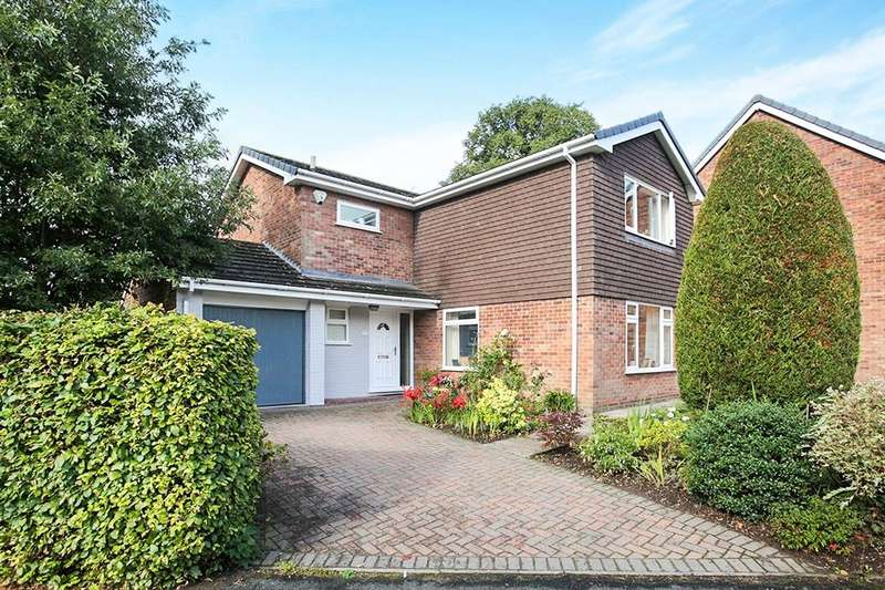 4 Bedrooms Detached House for sale in Longmeadow, Weaverham, Northwich, CW8