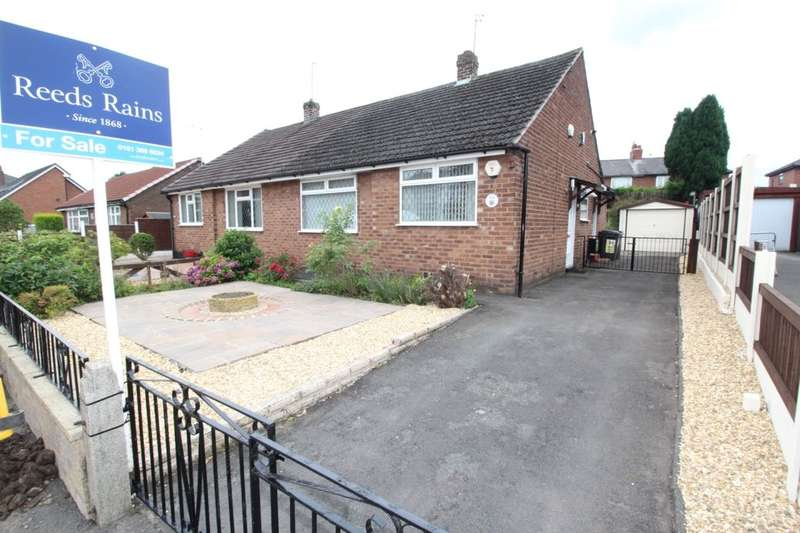 2 Bedrooms Semi Detached Bungalow for sale in Cheetham Hill Road, Dukinfield, SK16