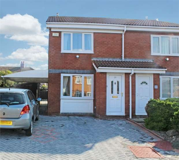 2 Bedrooms Semi Detached House for sale in Riversgate, Fleetwood, Lancashire