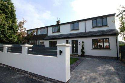 4 Bedrooms Semi Detached House for sale in Midland Road, Bramhall, Stockport, Greater Manchester