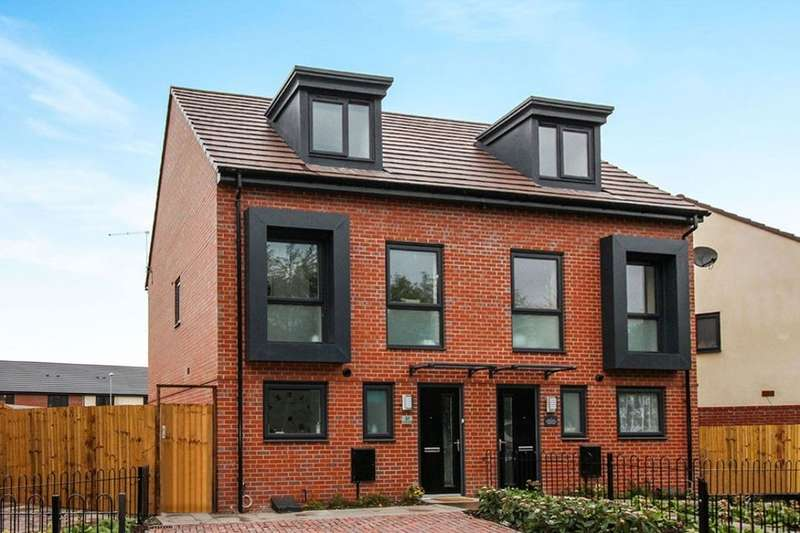 3 Bedrooms Semi Detached House for sale in The Willow Commercial Street, Stoke-On-Trent, ST1