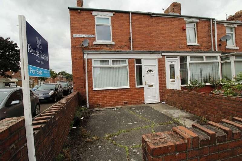 2 Bedrooms Terraced House for sale in Kelvin Gardens, Dunston, Gateshead, NE11