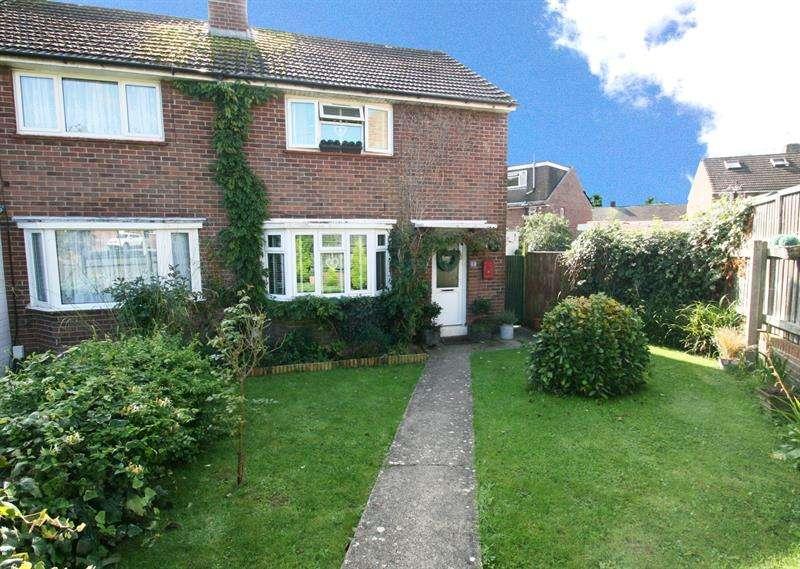 2 Bedrooms Semi Detached House for sale in Timsbury Crescent, Bedhampton, Havant