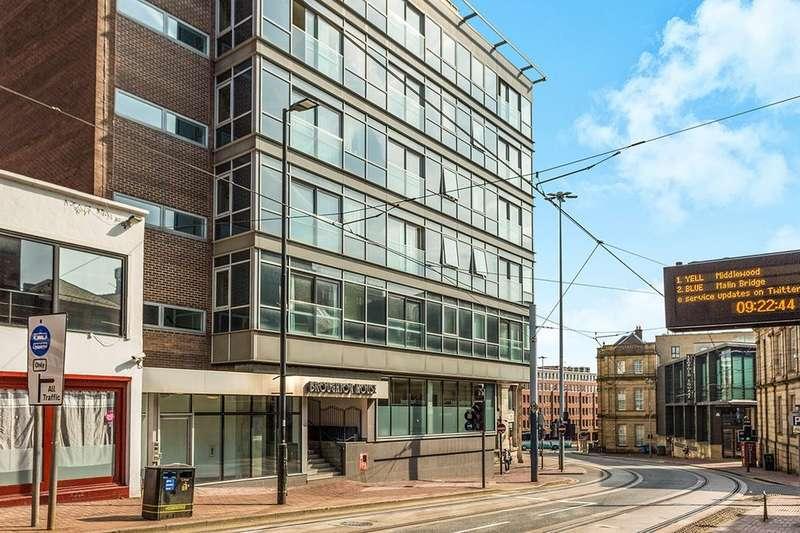 1 Bedroom Flat for sale in West Street, Sheffield, S1