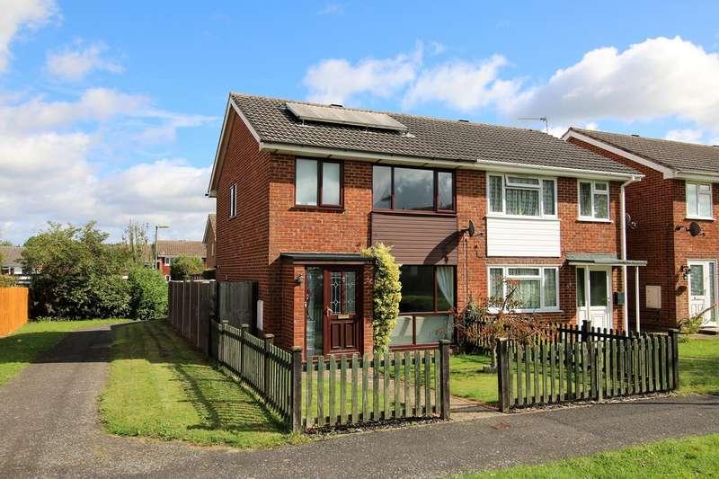 3 Bedrooms Semi Detached House for sale in Britten Road, Brighton Hill, Basingstoke, RG22