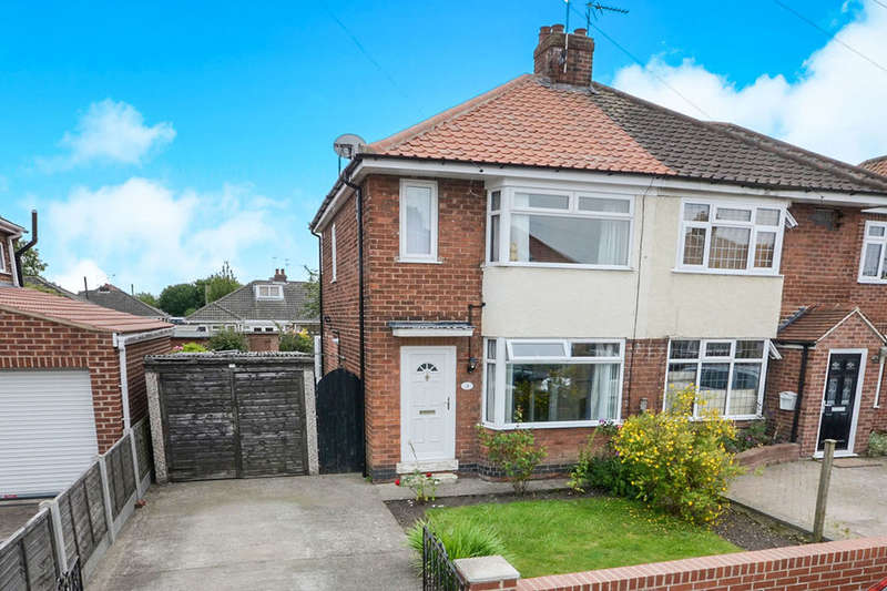 2 Bedrooms Semi Detached House for sale in Lawnswood Drive, York, YO30