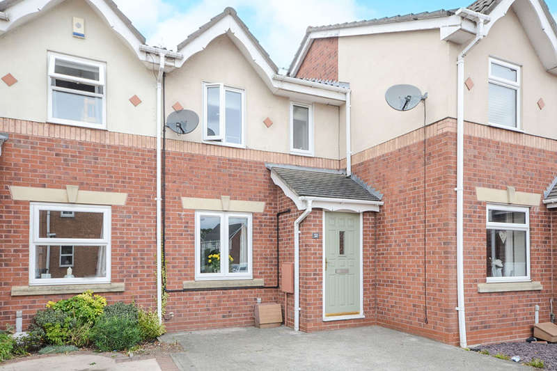2 Bedrooms Terraced House for sale in Harewood Close, York, YO30