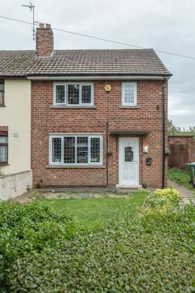 2 Bedrooms Semi Detached House for sale in Redbourne Drive, Lincoln, Lincolnshire, LN2