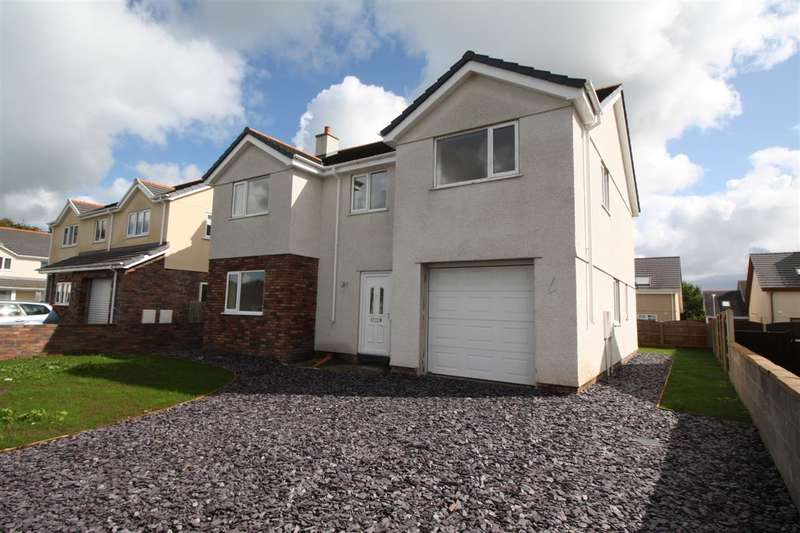 4 Bedrooms Detached House for sale in Off Nant Y Pandy, New Build, Llangefni
