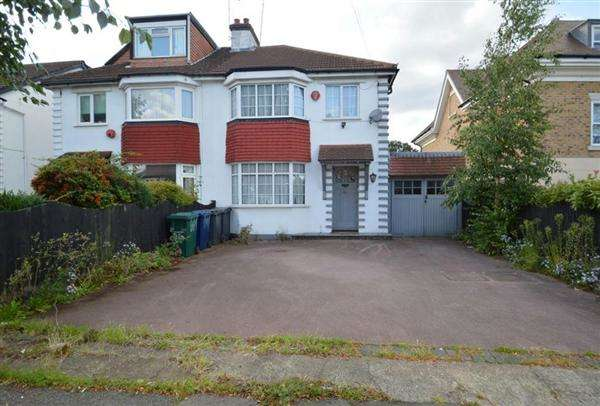 3 Bedrooms Semi Detached House for sale in Holders Hill Road, Mill Hill