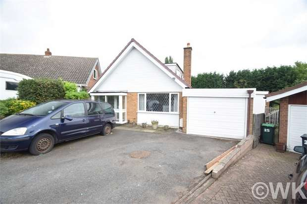 4 Bedrooms Detached Bungalow for sale in Bird End, WEST BROMWICH, West Midlands