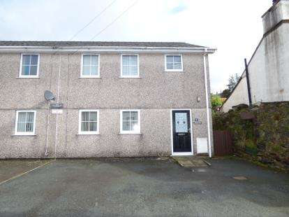 3 Bedrooms Semi Detached House for sale in Arfon Cottages, Clwt Y Bont, Caernarfon, Gwynedd, LL55