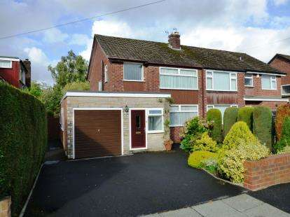 3 Bedrooms Semi Detached House for sale in Derwent Road, High Lane, Stockport, Greater Manchester