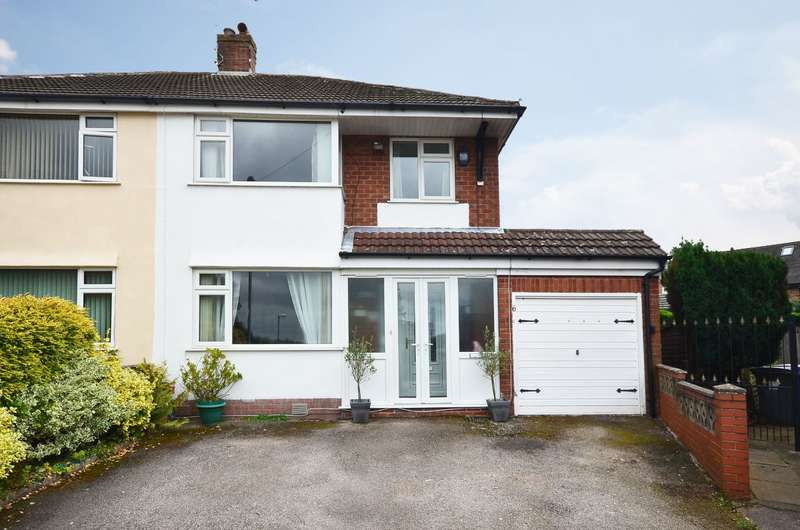 3 Bedrooms Semi Detached House for sale in ****NEW**** Hinton Close, Blurton, ST3 3BJ