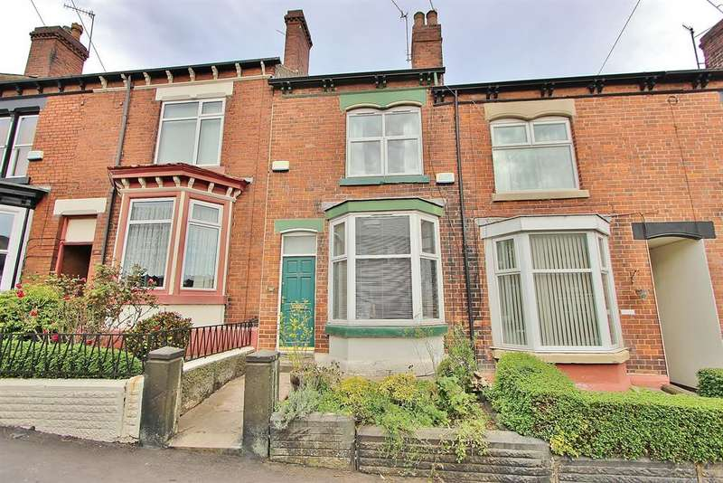 3 Bedrooms Terraced House for sale in South View Rd, Sharrow, Sheffield, S7 1DE