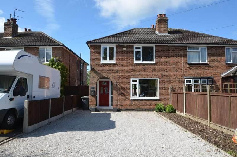 3 Bedrooms Semi Detached House for sale in Alwyn Road, Bilton, Rugby