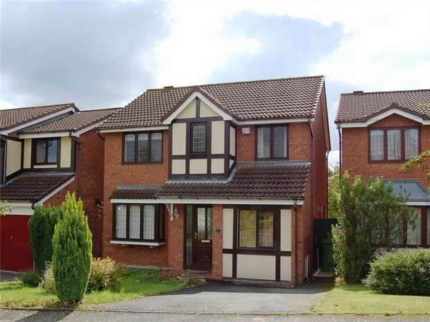 4 Bedrooms Detached House for sale in Jay Drive, Apley, Telford, Shropshire