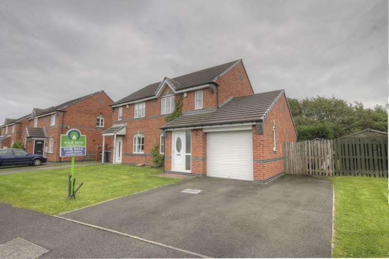 3 Bedrooms Semi Detached House for sale in Meadow Rise, Consett, DH8