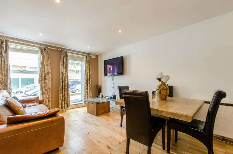 2 Bedrooms Flat for sale in Yalding Road, South Bermondsey, SE16