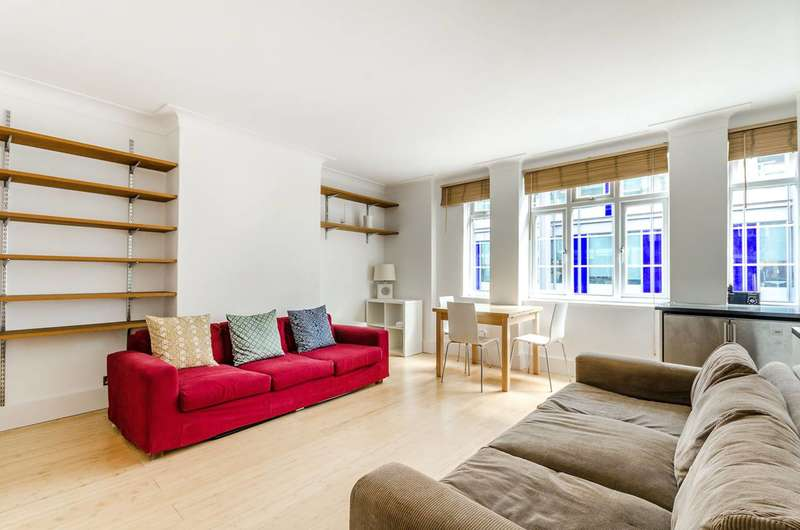 1 Bedroom Flat for sale in Red Lion Street, Holborn, WC1R