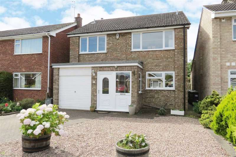 4 Bedrooms Detached House for sale in Stephens Way, Sleaford