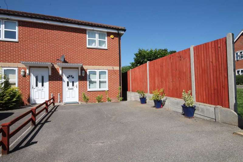 2 Bedrooms Semi Detached House for sale in Colemans Cottage, Hailes Meadow, Haughley