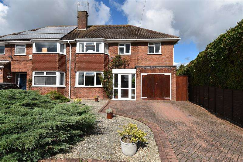 5 Bedrooms Semi Detached House for sale in Shirley Road, Droitwich