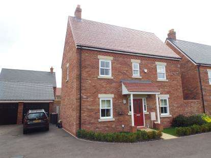 3 Bedrooms Detached House for sale in Manley Way, Kempston, Bedford, Bedfordshire