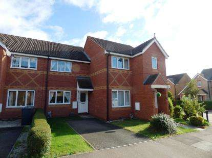 2 Bedrooms Terraced House for sale in Helmsley Court, Park Farm, Peterborough, Cambridgeshire