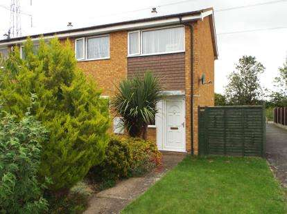 3 Bedrooms End Of Terrace House for sale in Therfield Walk, Houghton Regis, Dunstable, Bedfordshire