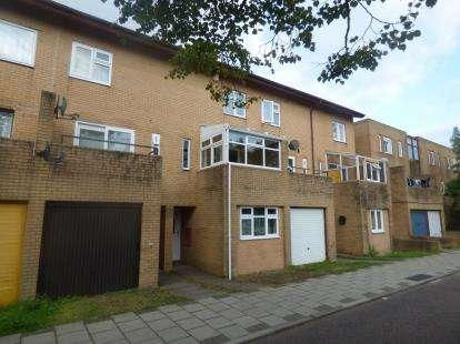 4 Bedrooms Terraced House for sale in Mullion Place, Fishermead, Milton Keynes, Buckinghamshire