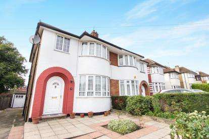 3 Bedrooms Semi Detached House for sale in Summit Way, Southgate, London, .