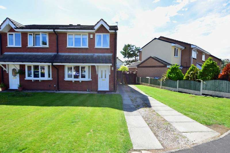 3 Bedrooms Semi Detached House for sale in Drake Close, St Annes