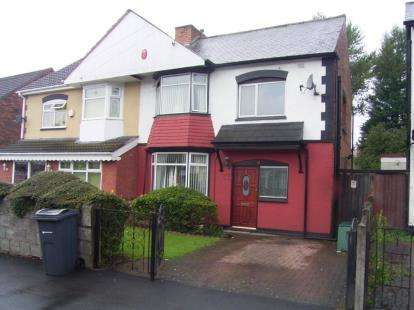 3 Bedrooms Semi Detached House for sale in Thornton Rd, Ward End, Birmingham, West Midlands