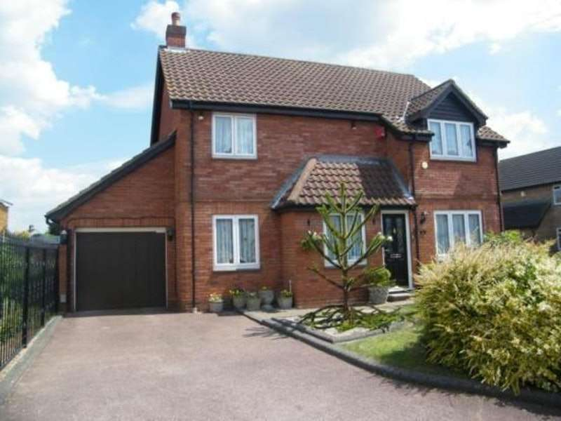 4 Bedrooms Detached House for sale in Findon Gardens, Rainham, Essex, RM13