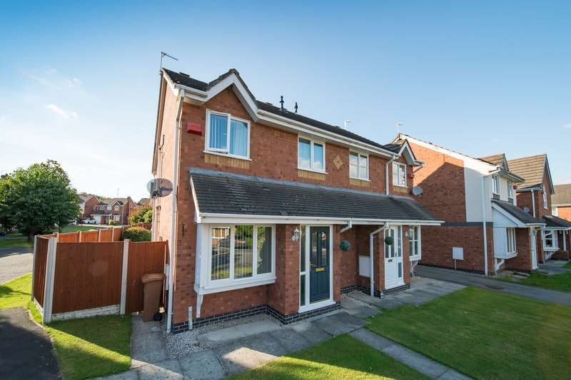 3 Bedrooms Semi Detached House for sale in Thornhill Close, Broughton, Flintshire, CH4